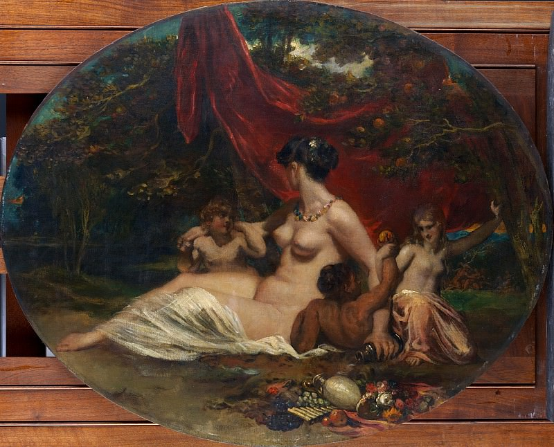 William Etty - Allegory. Metropolitan Museum: part 1