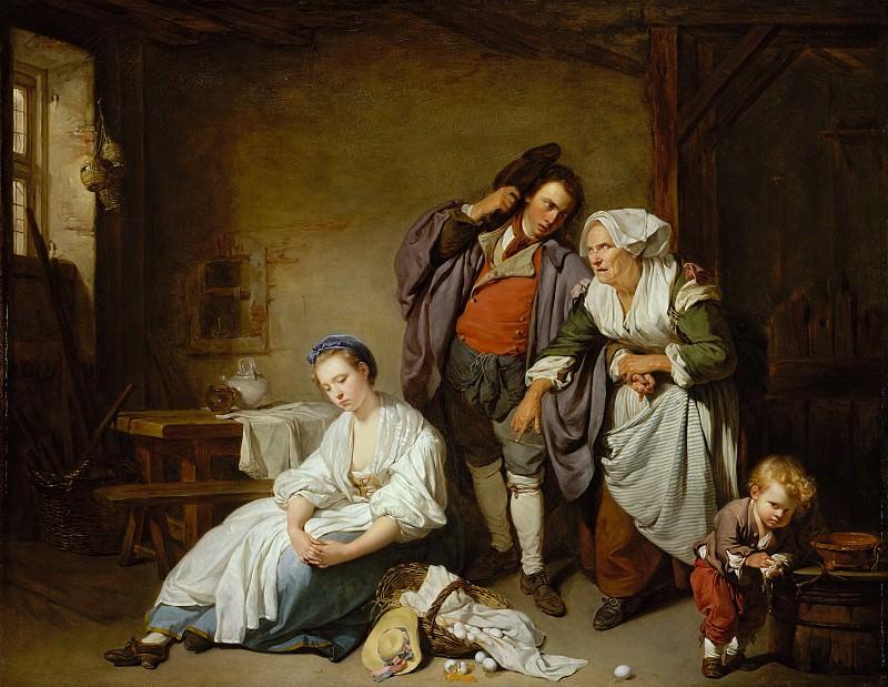 Jean Baptiste Greuze - Broken Eggs. Metropolitan Museum: part 1