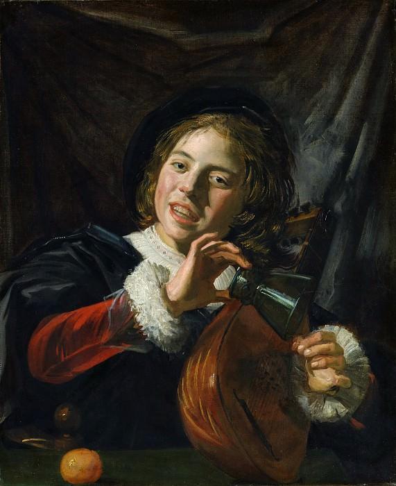 Frans Hals - Boy with a Lute. Metropolitan Museum: part 1
