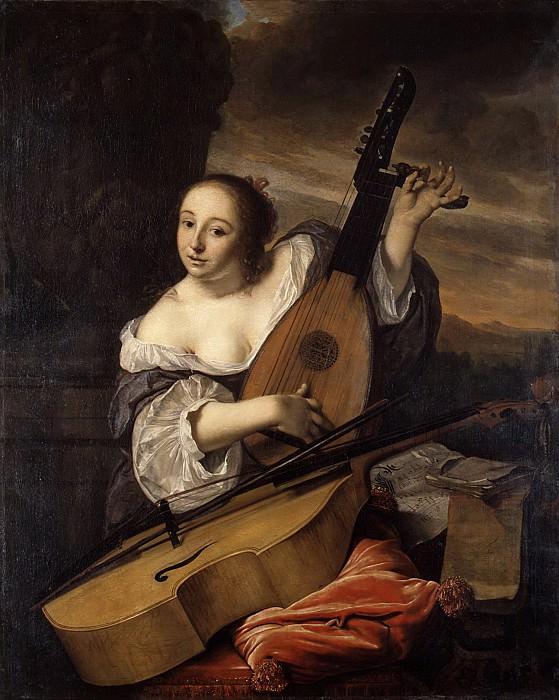 Bartholomeus van der Helst - The Musician. Metropolitan Museum: part 1