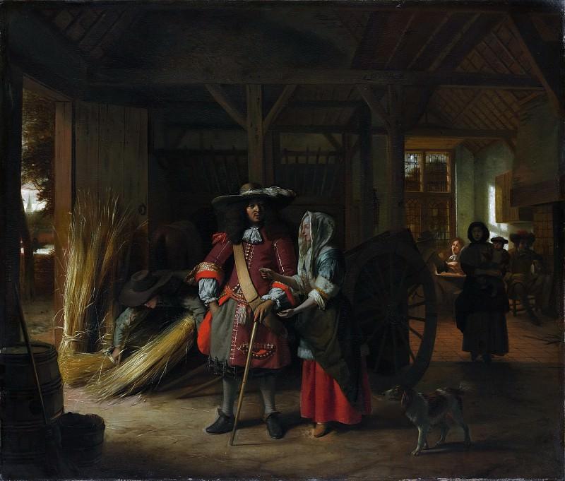 Pieter de Hooch - Paying the Hostess. Metropolitan Museum: part 1
