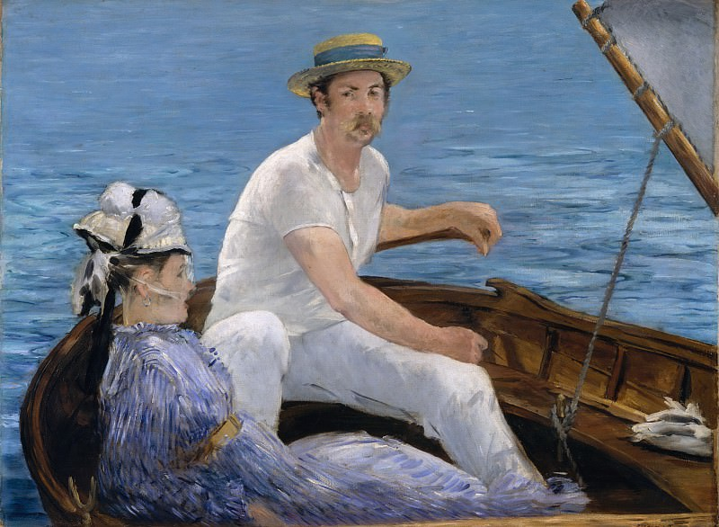 Édouard Manet - Boating. Metropolitan Museum: part 1