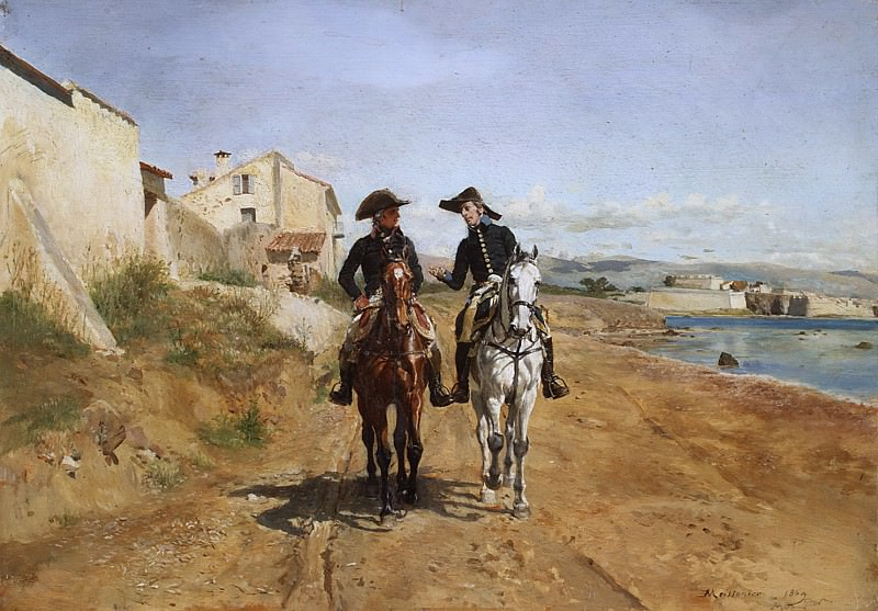Ernest Meissonier - A General and His Aide-de-camp. Metropolitan Museum: part 1