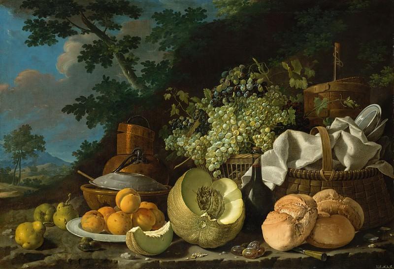 Луис Эгидия Мелендес (Испания, 1716-1780) - Обед. Музей Метрополитен: часть 1 (Закуска)