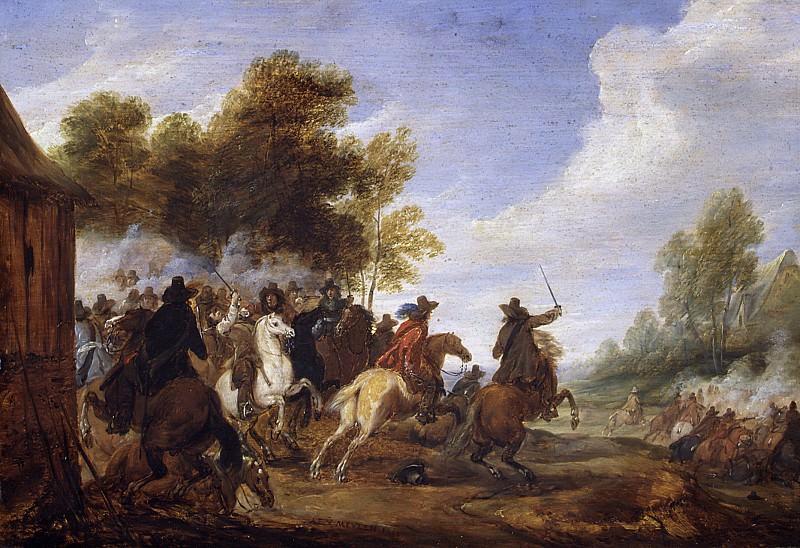 Адам Франс ван дер Мейлен - Поручение кавалерии. Музей Метрополитен: часть 1