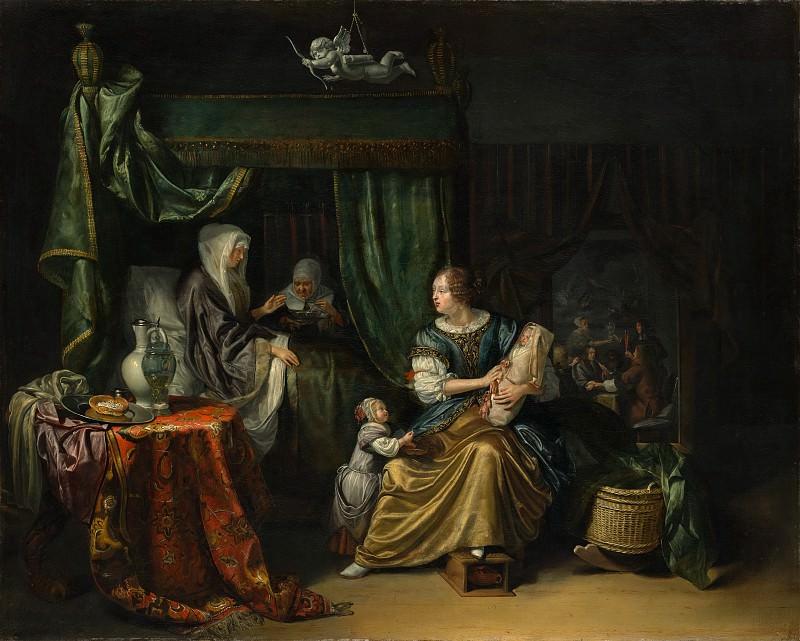 Matthijs Naiveu - The Newborn Baby. Metropolitan Museum: part 1