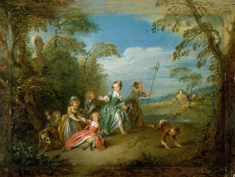 Jean Baptiste Joseph Pater - The Golden Age. Metropolitan Museum: part 1
