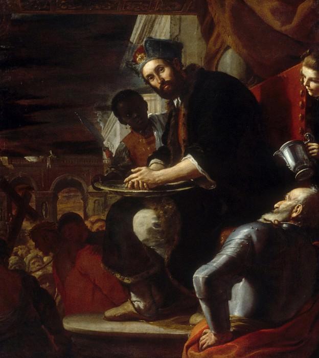 Mattia Preti (Italian, Taverna 1613–1699 Valletta) - Pilate Washing His Hands. Metropolitan Museum: part 1