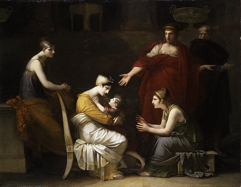 Pierre-Paul Prud'hon - Andromache and Astyanax. Metropolitan Museum: part 1