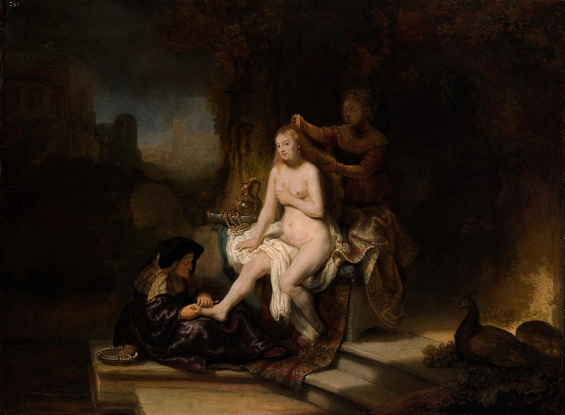 The Toilet of Bathsheba (attr). Rembrandt Harmenszoon Van Rijn