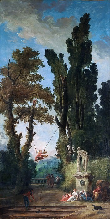 Hubert Robert - The Swing. Metropolitan Museum: part 1