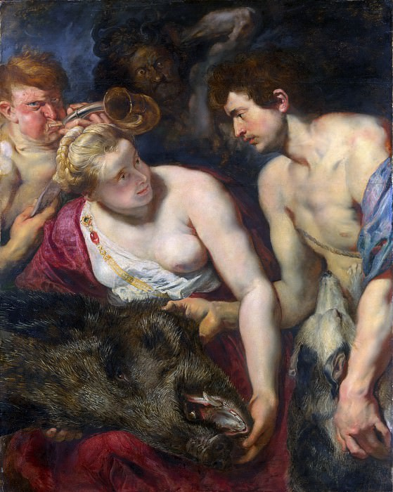 Peter Paul Rubens - Atalanta and Meleager. Metropolitan Museum: part 1