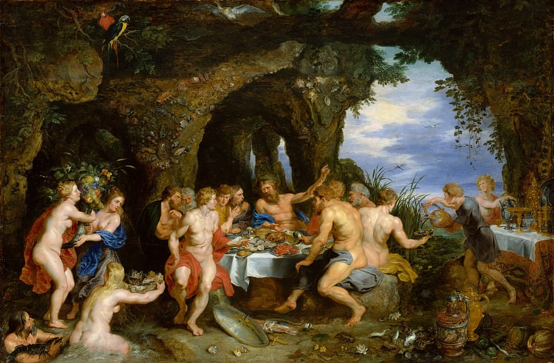 The Feast of Acheloüs. Jan Brueghel The Elder