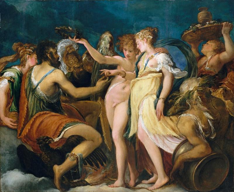 Andrea Schiavone (Italian, Zara (?) ca. 1510?–1563 Venice) - The Marriage of Cupid and Psyche. Metropolitan Museum: part 1 (Zadar)