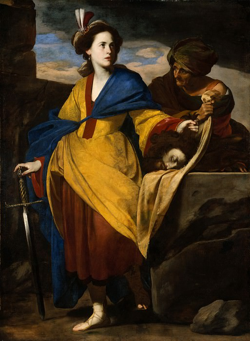 Massimo Stanzione - Judith with the Head of Holofernes. Metropolitan Museum: part 1