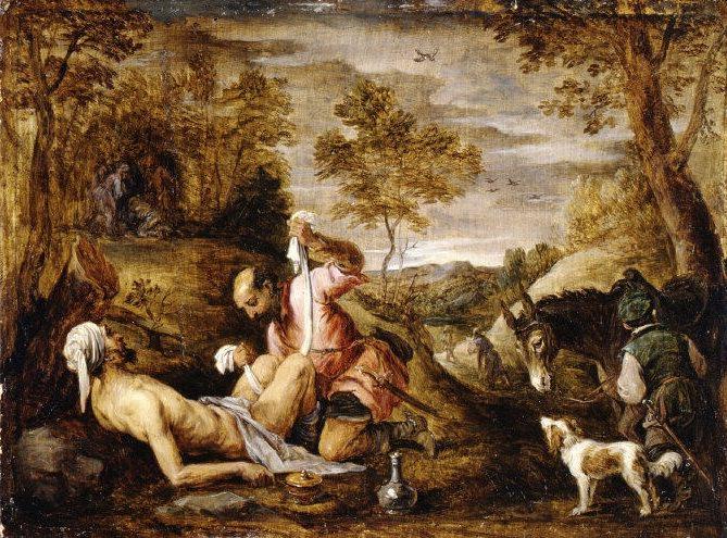 David Teniers the Younger - The Good Samaritan. Metropolitan Museum: part 1