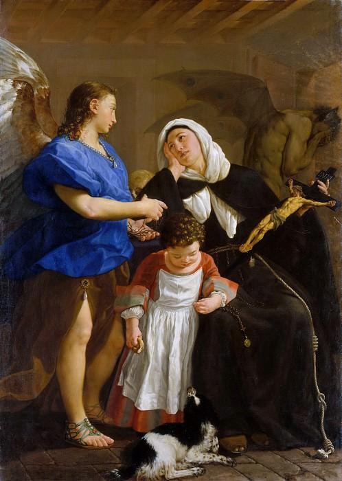 Gaspare Traversi - Saint Margaret of Cortona. Metropolitan Museum: part 1