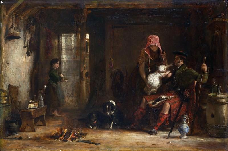 Sir David Wilkie - The Highland Family. Metropolitan Museum: part 1