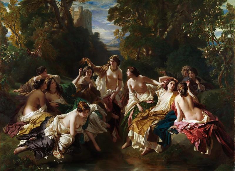 Franz Xaver Winterhalter - Florinda. Metropolitan Museum: part 1