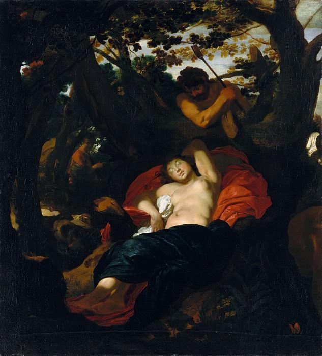 Johann Liss - Nymph and Shepherd. Metropolitan Museum: part 1