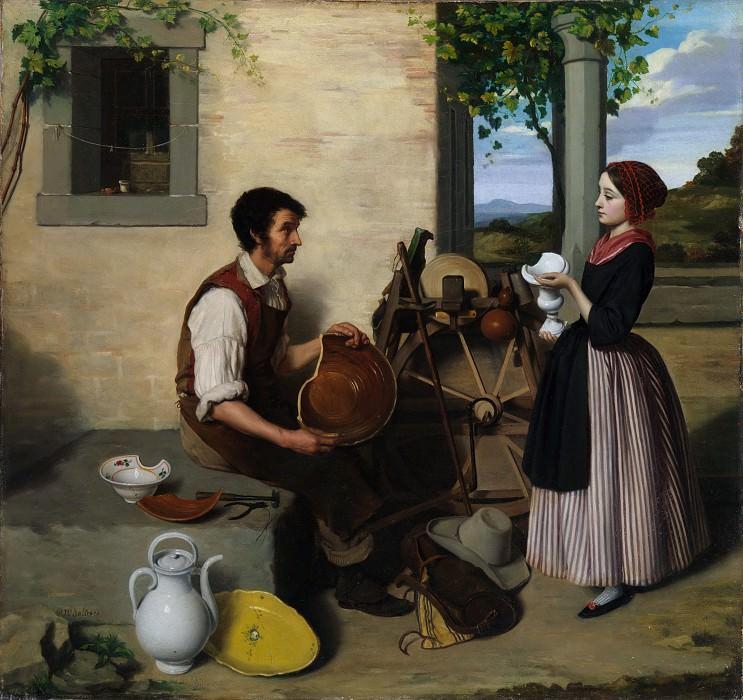 Paul-Narcisse Salières - The Faïence Restorer. Metropolitan Museum: part 1