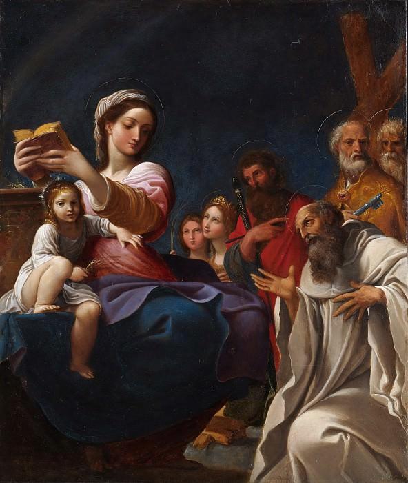 Ludovico Carracci - Madonna and Child with Saints. Metropolitan Museum: part 1