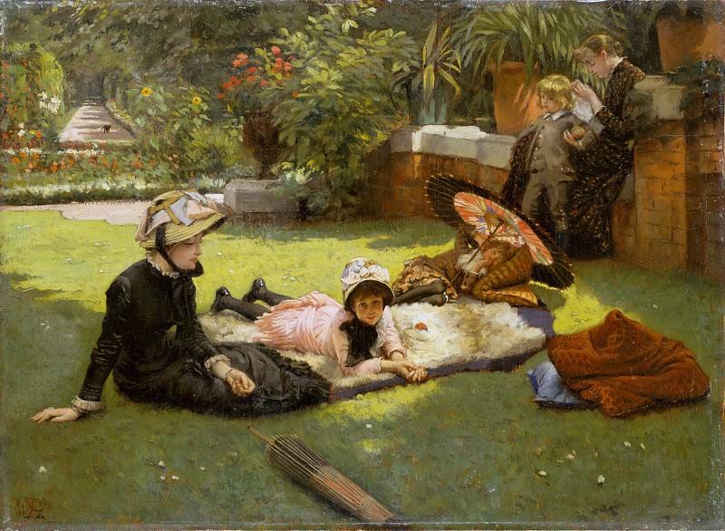 James Tissot - En plein soleil. Metropolitan Museum: part 1