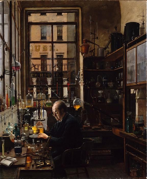 Henry Alexander - In the Laboratory. Metropolitan Museum: part 1