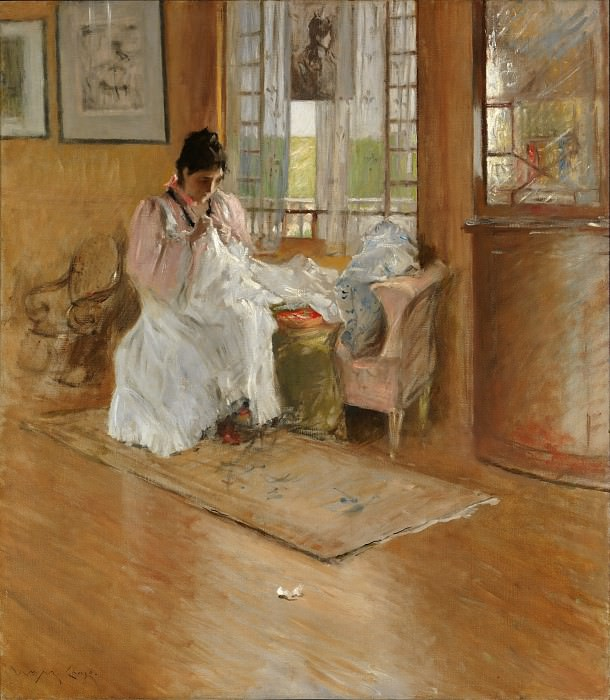 William Merritt Chase - For the Little One. Metropolitan Museum: part 1