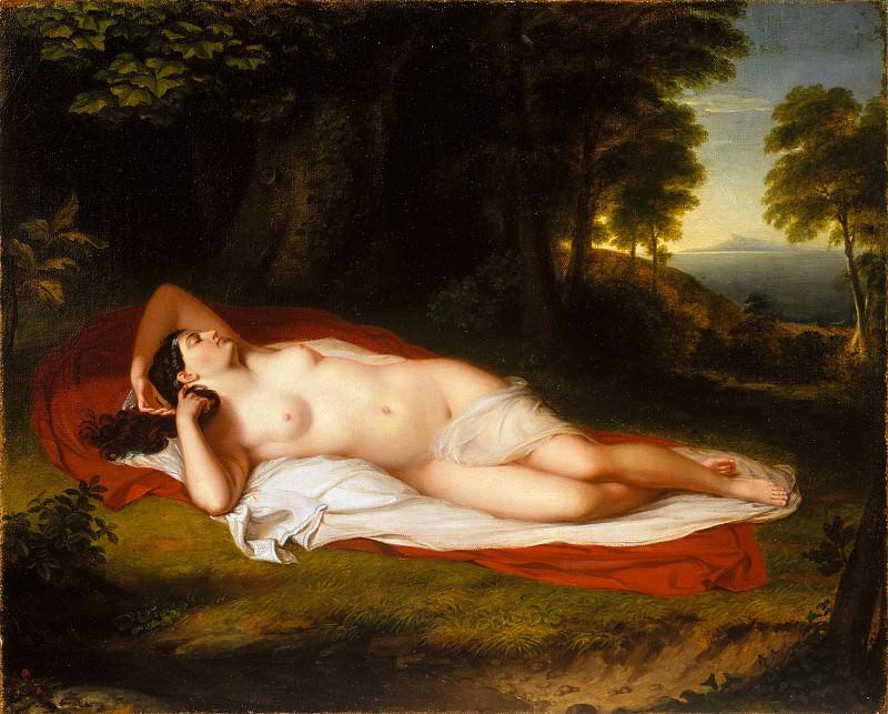 Asher Brown Durand - Ariadne. Metropolitan Museum: part 1