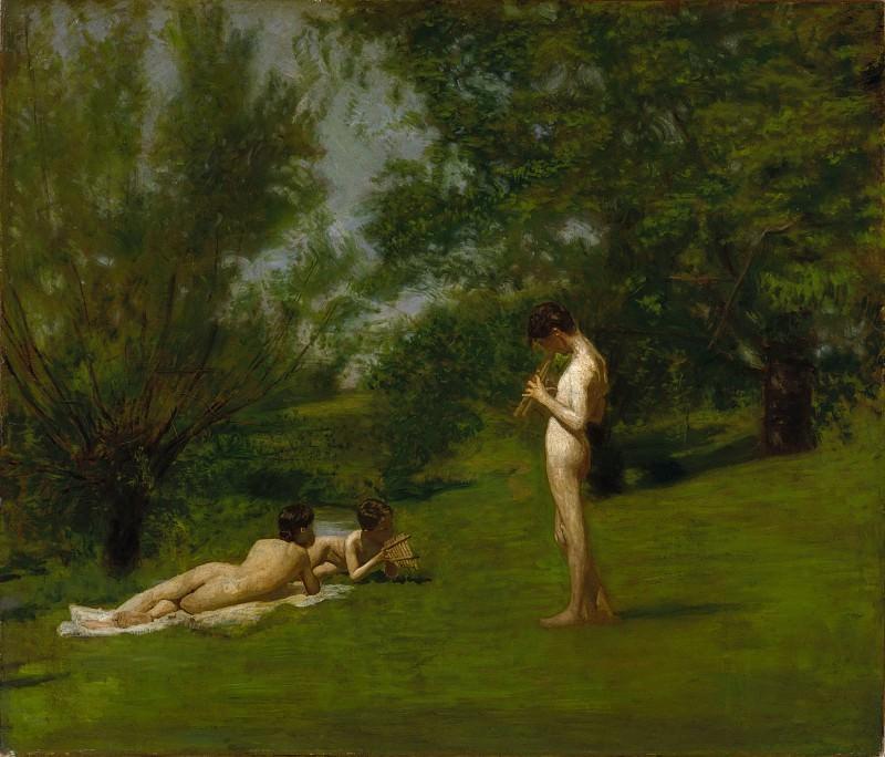 Female nude by thomas cowperthwait eakins