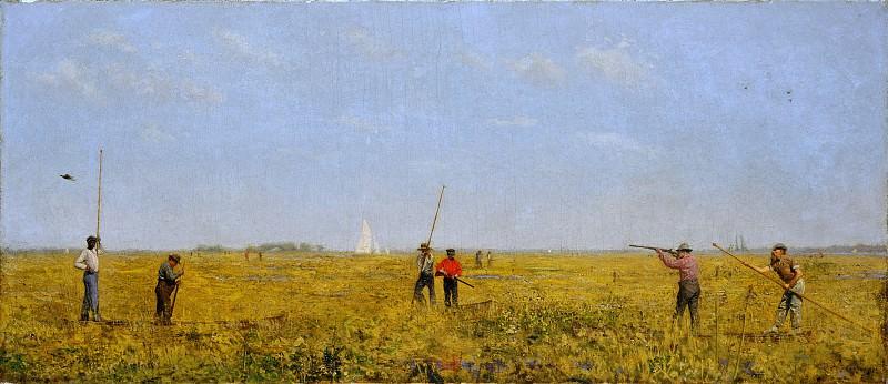 Thomas Eakins - Pushing for Rail. Metropolitan Museum: part 1