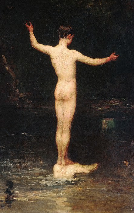 William Morris Hunt - The Bathers. Metropolitan Museum: part 1