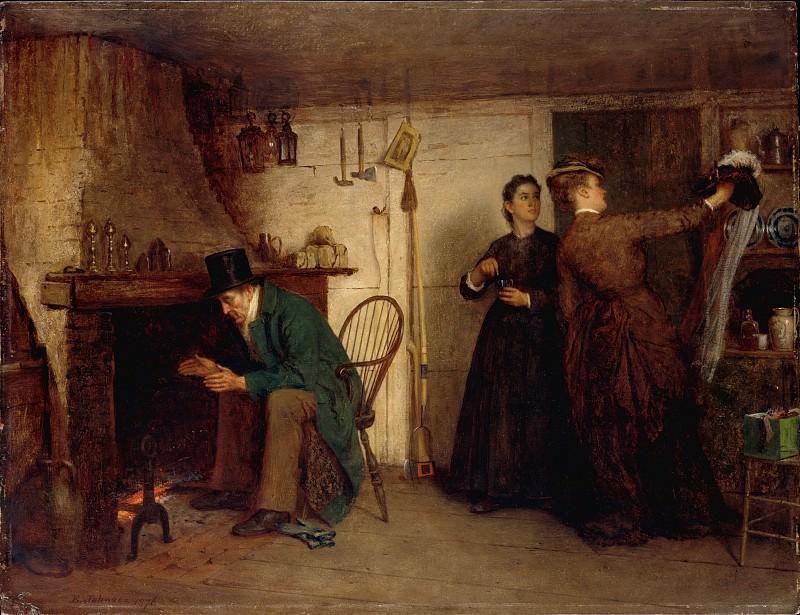 Eastman Johnson - The New Bonnet. Metropolitan Museum: part 1