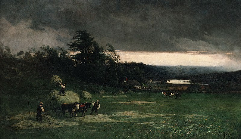 William Keith - Approaching Storm. Metropolitan Museum: part 1