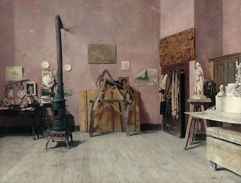 Louis Moeller - Sculptor's Studio. Metropolitan Museum: part 1
