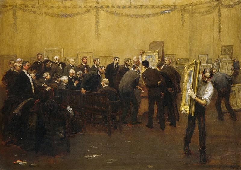 F. Luis Mora - The National Academy Jury of 1907. Metropolitan Museum: part 1