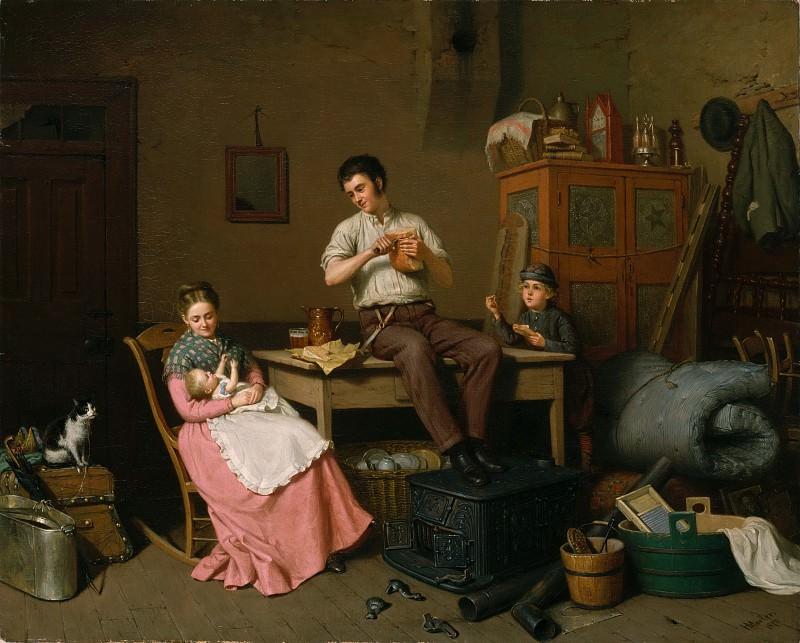 Henry Mosler - Just Moved. Metropolitan Museum: part 1