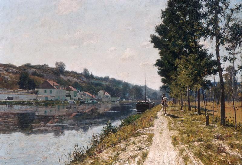 William Lamb Picknell - Banks of the Loing. Metropolitan Museum: part 1