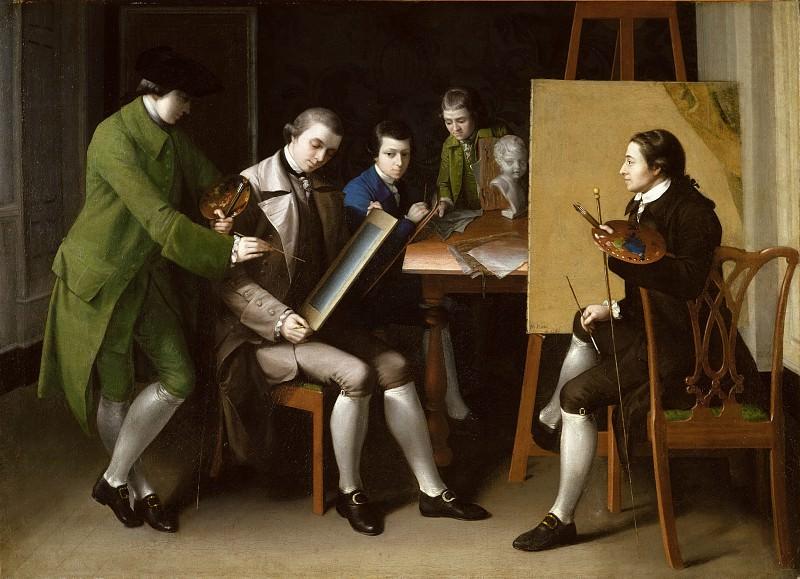 Matthew Pratt - The American School. Metropolitan Museum: part 1