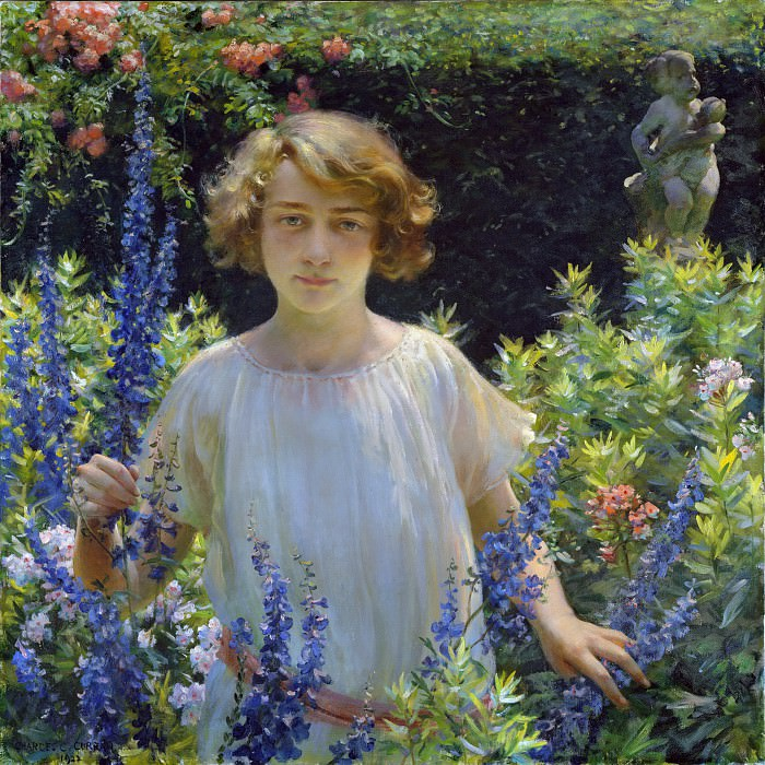 Charles Courtney Curran - Betty Newell. Metropolitan Museum: part 1
