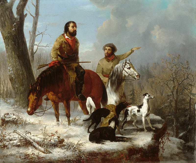 Jonathan K. Trego - Trappers. Metropolitan Museum: part 1