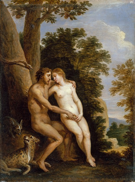 David Teniers the Younger - Adam and Eve in Paradise. Metropolitan Museum: part 1