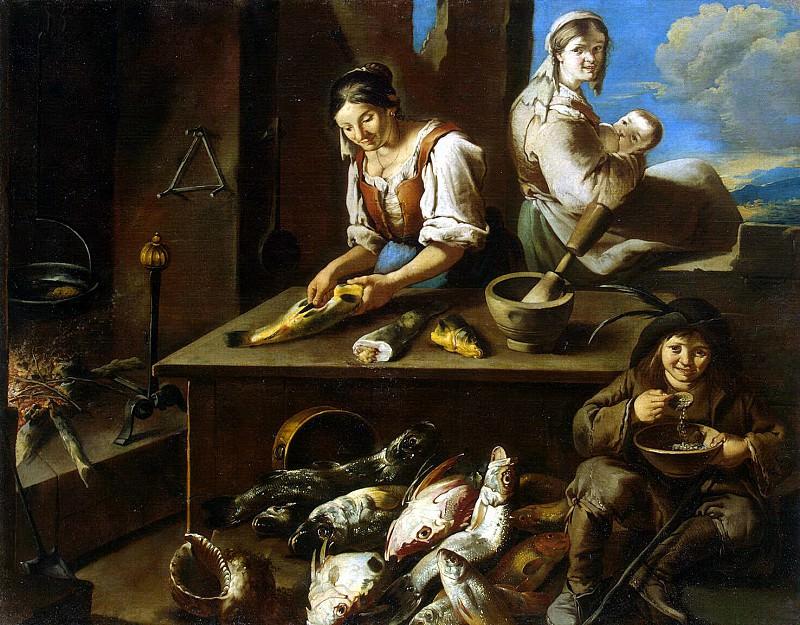 Chipper, Giacomo Francesco. Domestic Scene. Hermitage ~ part 13
