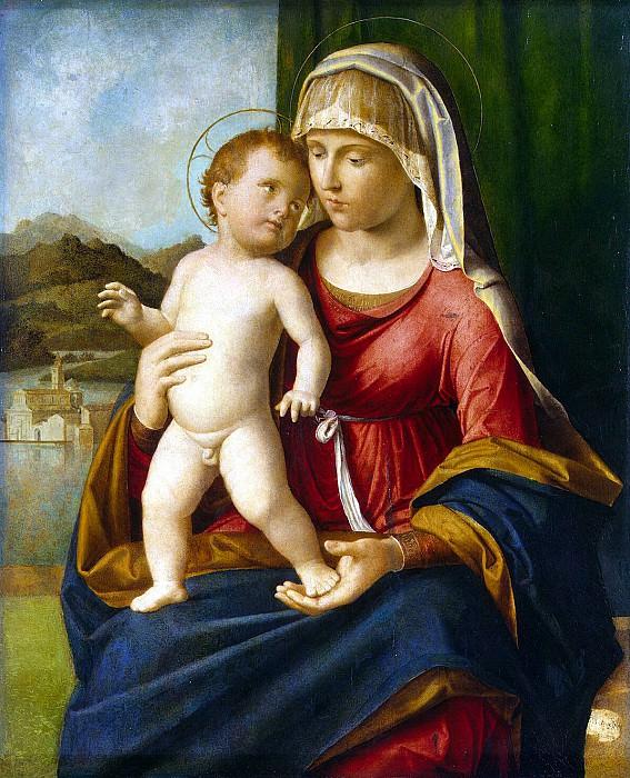 Cima da Conegliano, Giovanni Battista. Madonna and Child. Hermitage ~ part 13
