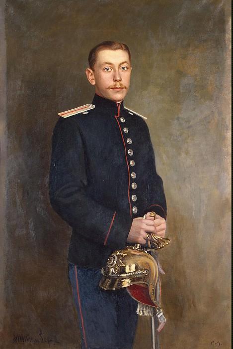 Shtemberg, Viktor Karlovich. Portrait cornet Cavalry Regiment, Earl DA Sheremetev. Hermitage ~ part 13