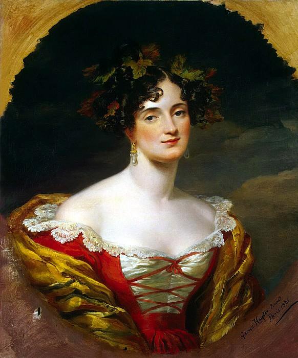 Hayter, George. Portrait of Sophia Stanislavovna Kiseleva. Hermitage ~ part 13