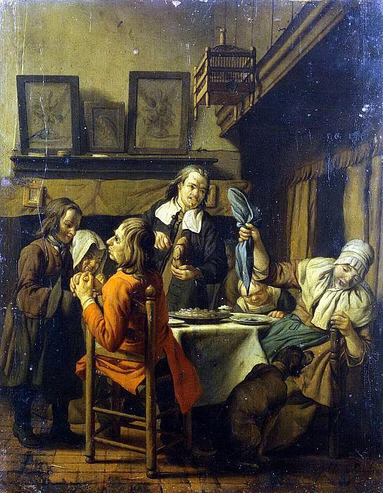 Horemans, Jan Josef the Elder. Genre Scene. Hermitage ~ part 13