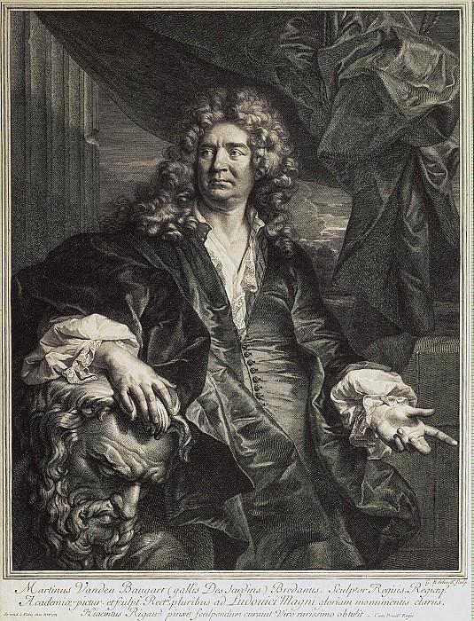 Edelink, Gerard. Portrait sculptor Desjardins. Hermitage ~ part 13