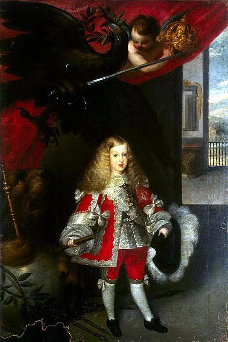 Эррера Барнуэво, Себастиан - Портрет Карлоса II в детстве. Эрмитаж ~ часть 13